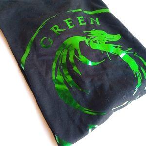 GREEN DRAGON BOAT T SHIRT - FOILED